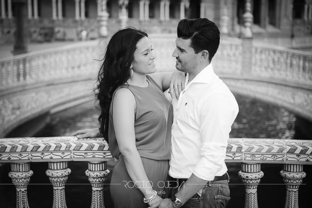 una pareja con encanto