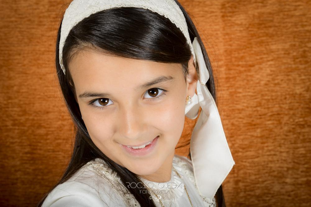 La 1ª Comunión de María