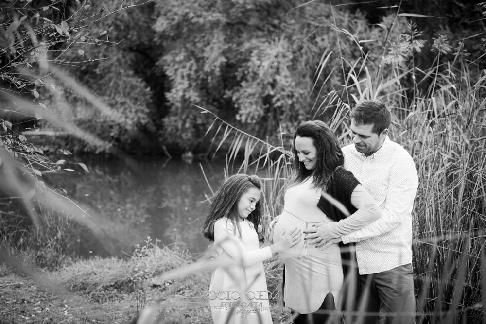 Embarazo de Marta y Tony