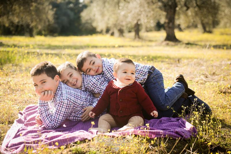Reportaje de familia en Gerena