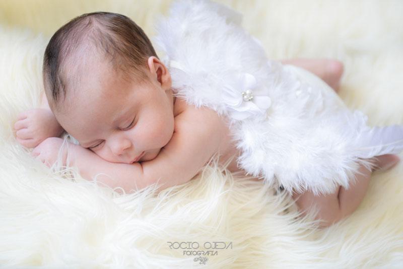 Reportaje del bebé Abel en Sevilla