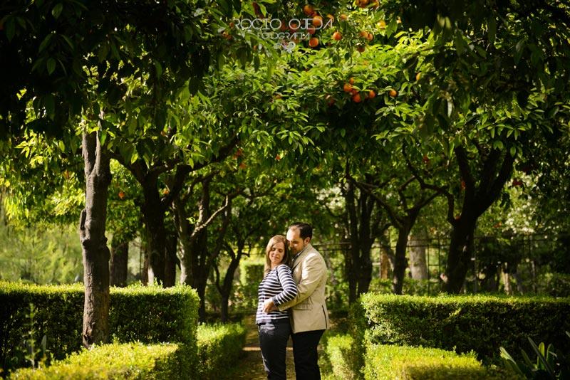 Preboda en Sevilla de Cristina y José Antonio