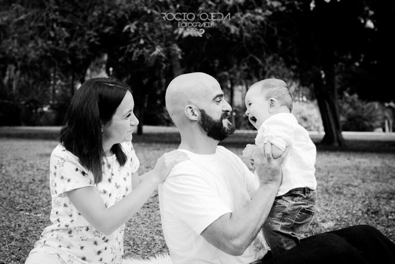 Reportaje de familia en Sevilla